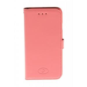 Apple iPhone 6 - etui na telefon i dokumenty - Insmat różowe