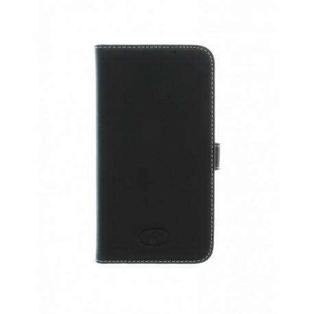 Samsung Galaxy S5 - etui skórzane na telefon i dokumenty - Insmat czarne
