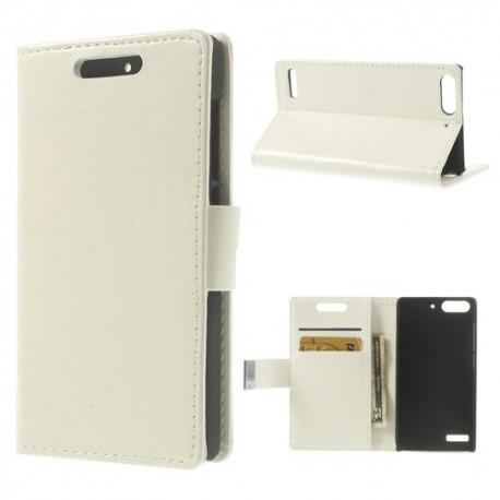 Huawei Ascend G6 - etui na telefon i dokumenty - CH białe