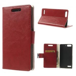 Huawei Ascend G6 - etui na telefon i dokumenty - CH czerwone