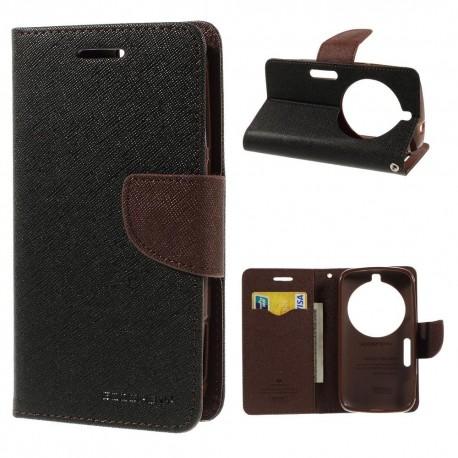 Samsung Galaxy K zoom - etui na telefon i dokumenty - Fancy czarne