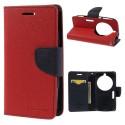Samsung Galaxy K zoom Portfel Etui – Fancy Czerwony