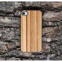 Apple iPhone 4 / 4S Etui Drewno Zebrawood