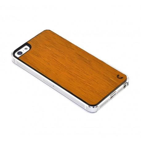 Apple iPhone 5 / 5S Etui Drewno - Merbau