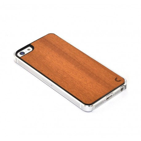Apple iPhone 5 / 5S Etui Drewno - Mahjong