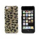 Apple iPhone 5 / 5S Etui - Diamenty Leopard