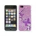 Apple iPhone 5 / 5S Etui - Diamenty Motyle