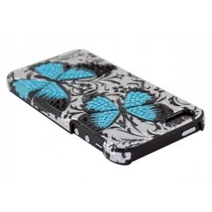 Apple iPhone 5 / 5S Obudowa 3D - Niebieskie Motyle