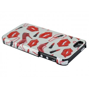 Apple iPhone 5 / 5S Obudowa 3D - Passion Czerwona