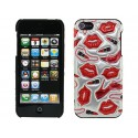 Apple iPhone 5 / 5S Obudowa 3D - Passion Czerwona