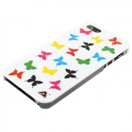 Apple iPhone 5 / 5S Obudowa – Kolorowe Motyle