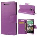 HTC One M8 Portfel Etui – Sonata Purpurowe