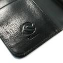 HTC One M8 Portfel Etui Skórzane - Tuff-Luv Czarne