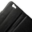 Huawei Ascend G7 Portfel Etui – Litchi Czarne