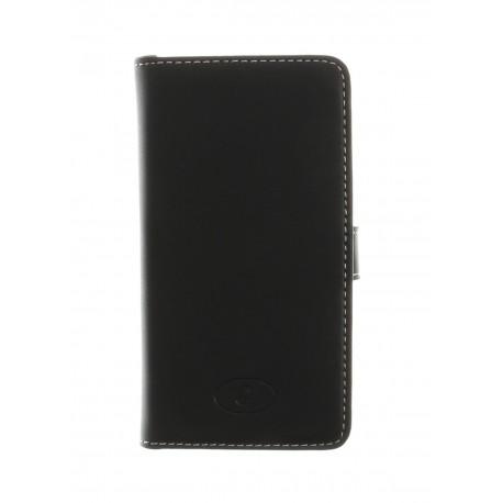 Huawei Ascend Y300 - etui skórzane na telefon i dokumenty - Insmat czarne