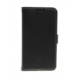 LG F60 - etui skórzane na telefon i dokumenty - Insmat czarne