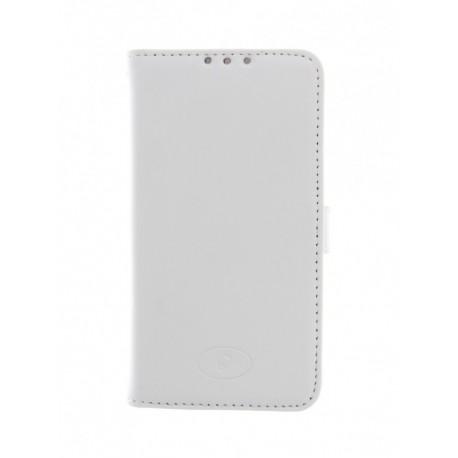 LG F60 - etui skórzane na telefon i dokumenty - Insmat białe