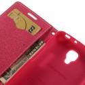 LG F70 Portfel Etui – Goospery Fancy Różowy