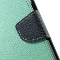 Motorola Nexus 6 Portfel Etui – Fancy Cyjan