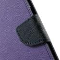 Motorola Nexus 6 Portfel Etui – Fancy Purpurowy