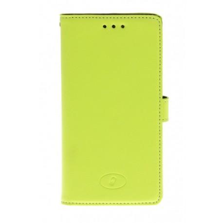 Nokia Lumia 830 - etui skórzane na telefon i dokumenty - Insmat zielone