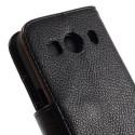 Samsung Galaxy Ace 4 Portfel Etui – PU Skóra Czarne