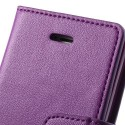 Apple iPhone 5 / 5S Portfel Etui – Sonata Purpurowy