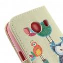 Samsung Galaxy Ace 4 Portfel Etui – Sowy 1