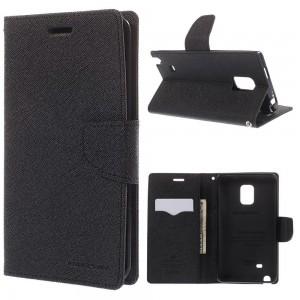Samsung Galaxy Note Edge - etui na telefon i dokumenty - Fancy czarne