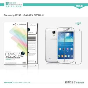 Samsung Galaxy S4 Mini - folia ochronna Nillkin