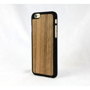 Apple iPhone 6 - etui na telefon - Lastu Walnut drewno