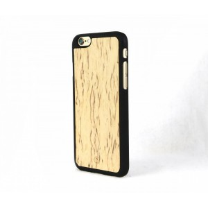 Apple iPhone 6 - etui na telefon - Lastu Curly Birch drewno