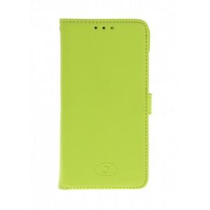 Huawei Ascend G630 - etui skórzane na telefon i dokumenty - Insmat zielone