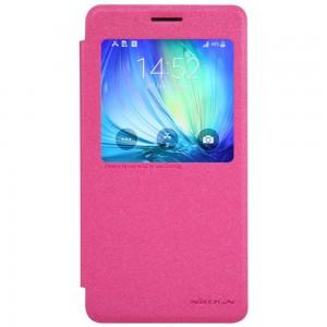 Samsung Galaxy A7 - etui na telefon - Nillkin Sparkle różowe