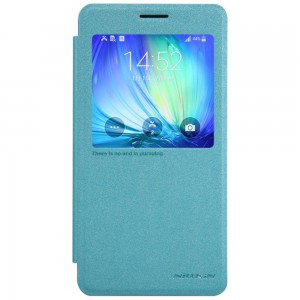 Samsung Galaxy A7 - etui na telefon - Nillkin Sparkle niebieskie