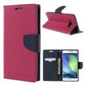 Samsung Galaxy A7 Portfel Etui - Różowy Fancy