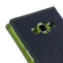 Samsung Galaxy A7 Portfel Etui - Niebieski Fancy