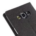 Samsung Galaxy A7 Portfel Etui - Czarny Fancy