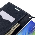 Samsung Galaxy A7 Portfel Etui - Cyjan Fancy