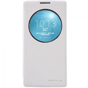 LG Spirit 4G LTE - etui na telefon - Nillkin Sparkle białe