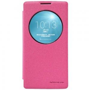 LG Spirit 4G LTE - etui na telefon - Nillkin Sparkle różowe