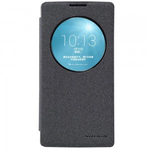 LG Spirit 4G LTE - etui na telefon - Nillkin Sparkle czarne