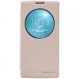 LG Spirit 4G LTE - etui na telefon - Nillkin Sparkle złote