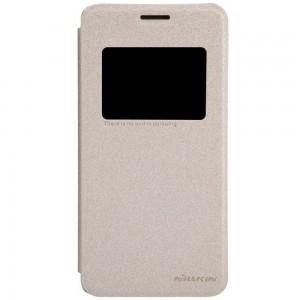 Asus Zenfone 5 - etui na telefon - Nillkin Sparkle złote
