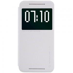 HTC One M9 - etui na telefon - Nillkin Sparkle białe