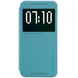HTC One M9 - etui na telefon - Nillkin Sparkle niebieskie