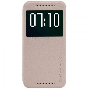 HTC One M9 - etui na telefon - Nillkin Sparkle złote