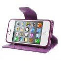Apple iPhone 4 / 4S Portfel Etui – Sonata Purpurowy