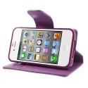 Apple iPhone 4 / 4S Portfel Etui – Sonata Purpurowy