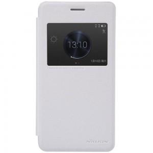 Huawei Honor 6 Plus - etui na telefon - Nillkin Sparkle białe